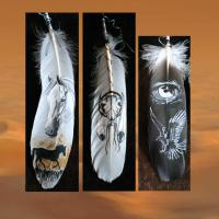 Foto 8 WESTERN-ART , Pferdeportrait und Tierportrait / Malerei auf LEDER und LEDERJACKEN