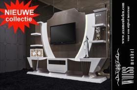 WOISS Möbeln Hochglanz Wohnwände in ausgezeichneter Qualität