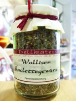 Walliser Raclettegewürz - ein Muss für jeden Racletteliebhaber