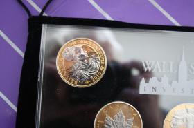 Foto 4 Wallstreet Investment 2010 - Silber / Gold / Platin - 7 Münzen je 1 Unze