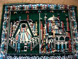Foto 2 Wandbehang, Wandteppich Moschee Versand inclusive!!!