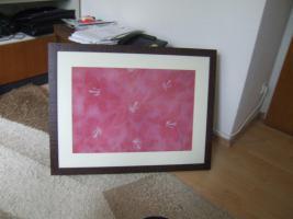 Foto 2 Wandbild Kunstdruck rot