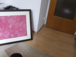 Foto 3 Wandbild Kunstdruck rot