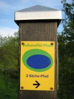 Wandern auf dem 2-Bäche-Pfad - Partnerweg des Eifelsteig