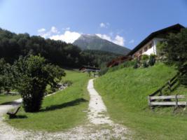 Wandern mit Hund im Berchtesgadener Land, Internetzugang im Haus über W-LAN