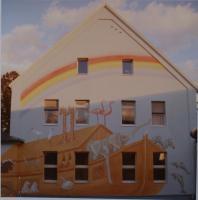 Wandmalerei, Wandgestaltung, Illusionsmalerei.