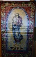Wandteppich ''Madonna mit Engeln''