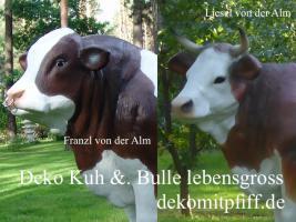 Foto 3 Warum nicht gleich zwei … 1 x Deko Kuh und 1 X Deko Bulle ...