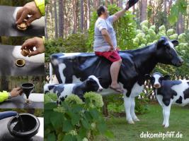 Warun nicht mal ne Deko Melk Kuh …?