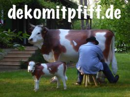 Foto 2 Warun nicht mal ne Deko Melk Kuh …?