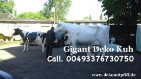 Foto 2 Was Denn Du möchtest ne Deko Kuh die Gross ist ja dann hole Dir doch die Gigant Deko Kuh in Deinen Garten ...