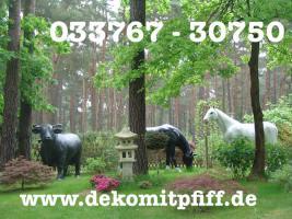 Foto 3 Was Denn Du möchtest ne Deko Kuh die Gross ist ja dann hole Dir doch die Gigant Deko Kuh in Deinen Garten ...