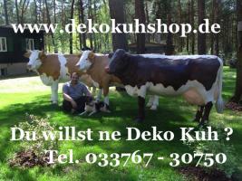 Foto 5 Was Denn Du möchtest ne Deko Kuh die Gross ist ja dann hole Dir doch die Gigant Deko Kuh in Deinen Garten ...