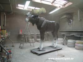 Foto 6 Was Denn Du möchtest ne Deko Kuh die Gross ist ja dann hole Dir doch die Gigant Deko Kuh in Deinen Garten ...