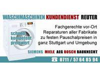 Waschmaschinenreparatur Kundendienst Uhingen|Aeg, Bosch, Siemens, Miele