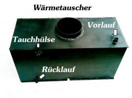Wasserführender Heizeinsatz / Kamineinsatz / Wärmetauscher für Kamin