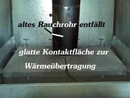 Foto 2 Wasserführender Heizeinsatz / Kamineinsatz / Wärmetauscher für Kamin