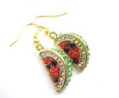 Wassermelonen Ohrringe