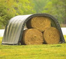 Foto 4 Weidezelt und Unterstand als Wetterschutz