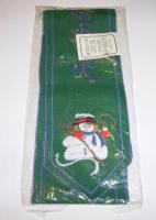 Weihnachtsband - Weihnachtsschleife - Stickband