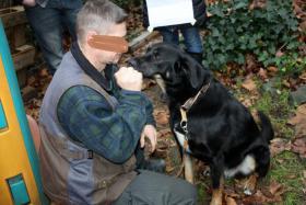 Foto 5 Weihnachtsbesucht  zb. im Kinderheim srs, ,K9 Squad Dog Team NRW Taiga