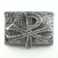 Foto 4 Weihwasserbecken PAX, rechteckiger Weihwasserkessel Silber Anthrazit