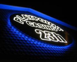 Foto 7 Werbebanner Werbeplane Bannerdruck Foliendruck 3D Plexubuchstaben mit LED Beleuchtung Leuchtbuchstaben Beleuchtete Profilbuchstaben Berlin Leuchtkästen Leuchtschilder Werbeschilder