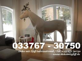 Foto 4 Werbefiguren - Deko Horse lebensgross - Dekorationsfiguren oder Deko Huhn oder Deko Pferd oder doch ne Deko Kuh ... ja dann www.dekomitpfiff.de anklicken ...