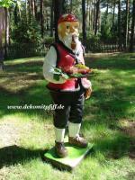 Werbefiguren - Deko Koch - Dekorationsfiguren oder Deko Huhn oder Deko Pferd oder doch ne Deko Kuh ... ja dann www.dekomitpfiff.de anklicken ...