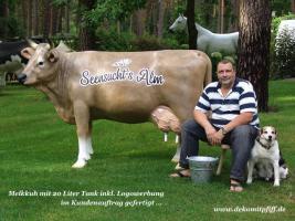 Foto 4 Werbefiguren - Deko Kuh - Deko Horse lebensgross - Dekorationsfiguren oder Deko Huhn oder Deko Pferd oder doch ne Deko Kuh ... ja dann www.dekomitpfiff.de anklicken ...