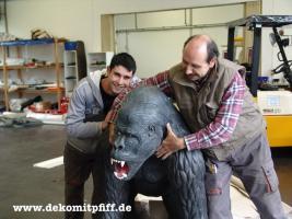 Foto 6 Werbefiguren - Deko Kuh - Deko Horse lebensgross - Dekorationsfiguren oder Deko Huhn oder Deko Pferd oder doch ne Deko Kuh ... ja dann www.dekomitpfiff.de anklicken ...