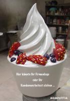 Werbung für Ihr Eiscafe …. ja welche Reklame möchst denn ...