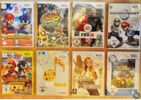Wii Spiele ab 8€ zu verkaufen!