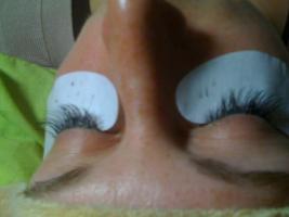 Wimpernverlängerung mit Nerz & Seidenwimpern