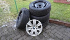 Foto 2 Winterräder BMW E90 Dunlop SP Sport 3D 205/16'' Stahl, runflat, neuwertig