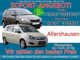 Wir kaufen dein Auto Allershausen | Bestmöglichen Ankaufpreis!