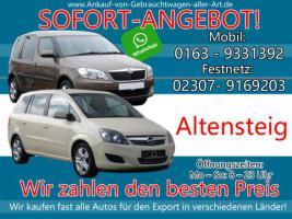 Wir kaufen dein Auto Altensteig   Bestmöglichen Ankaufpreis!