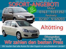 Wir kaufen dein Auto Altötting | Bestmöglichen Ankaufpreis!
