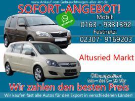 Wir kaufen dein Auto Altusried Markt | Bestmöglichen Ankaufpreis!