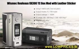 Wismec Reuleaux RX300 TC 300W BoxMod € 43 frei Haus