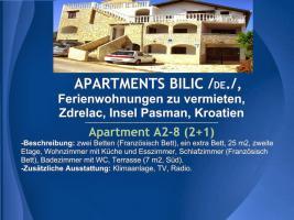 Foto 9 Wohnungen Bilic, Ferienwohnungen zu vermieten, Zdrelac, Insel Pasman, Kroatien