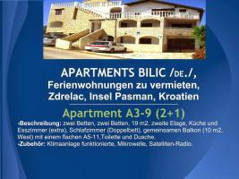 Foto 18 Wohnungen Bilic, Ferienwohnungen zu vermieten, Zdrelac, Insel Pasman, Kroatien