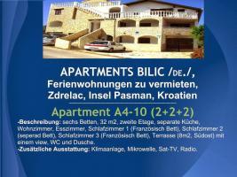 Foto 24 Wohnungen Bilic, Ferienwohnungen zu vermieten, Zdrelac, Insel Pasman, Kroatien