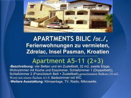 Foto 34 Wohnungen Bilic, Ferienwohnungen zu vermieten, Zdrelac, Insel Pasman, Kroatien