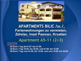 Foto 42 Wohnungen Bilic, Ferienwohnungen zu vermieten, Zdrelac, Insel Pasman, Kroatien