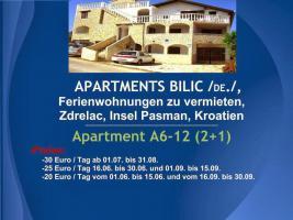 Foto 47 Wohnungen Bilic, Ferienwohnungen zu vermieten, Zdrelac, Insel Pasman, Kroatien