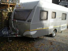 wohnwagen caravan zum mieten dethleffs camper 450 sehr. Black Bedroom Furniture Sets. Home Design Ideas