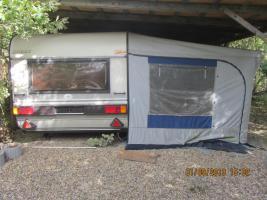 wohnwagen hobby prestige inkl vorzelt in leuna wohnwagen. Black Bedroom Furniture Sets. Home Design Ideas