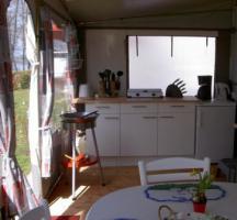 Foto 3 Wohnwagenvermietung am Bodensee komplett eingerichtet