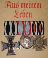 Wunderschöne Ordensspange Hessen + Hindenburg Buch